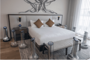 New Touchless Sterilization Robot Designed to Clean Hotel Rooms Revealed